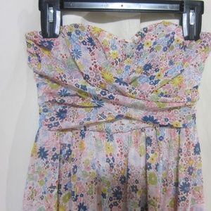 Speechless Dresses - Speechless, Size 3, Floral print Strapless Dress